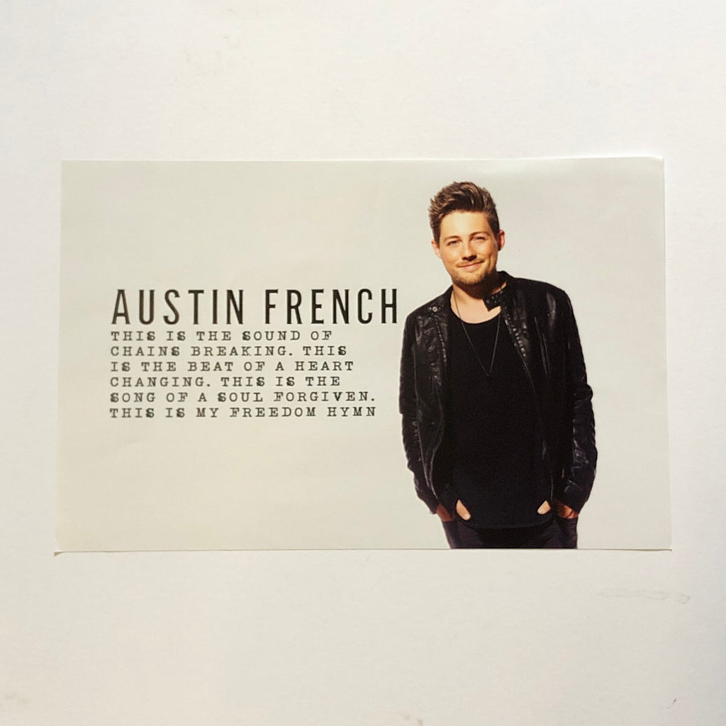 Austin French 11x17 Poster
