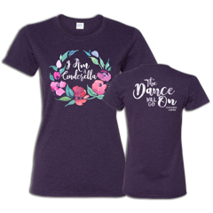 Blackberry Cinderella Flowers Ladies T-shirt
