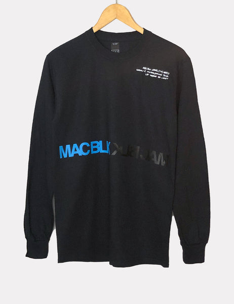 NEW - MAC BLK Black Season 4 Long Sleeve