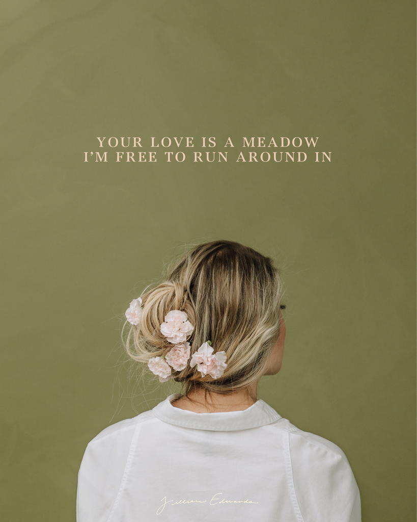 Meadow Lyric Poster