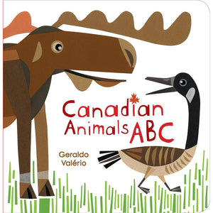 The cover of the book depicting the title, a cartoon moose, and a cartoon goose.