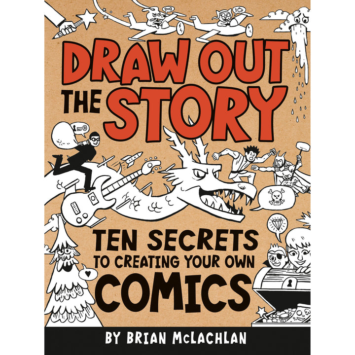 The cover of the book depicting the title and many cartoon people, creatures, and objects.