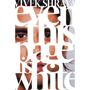 The cover of the book depicting the title and the face of the author.