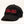 "Load image into Gallery viewer, A black ballcap with ""K0K 3K0"" stitched in red on the front."