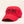 "Load image into Gallery viewer, A red ballcap with ""K0K 3K0"" stitched in black on the front."