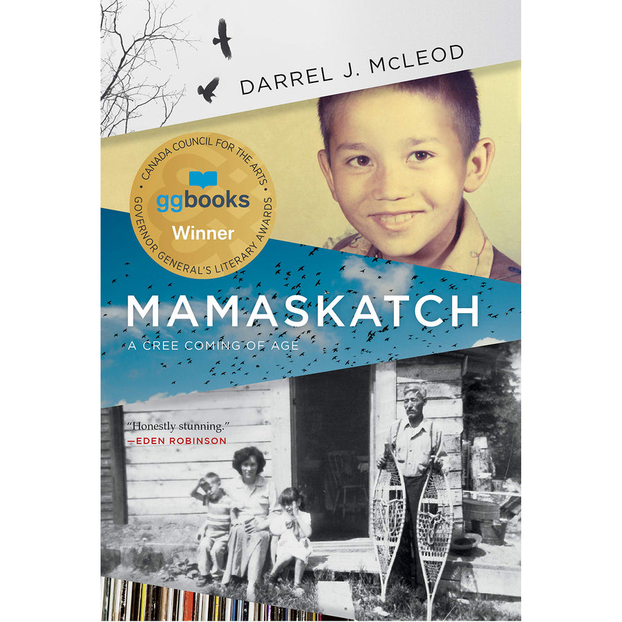 The cover of the book depicting the title and pictures of the author as a child.