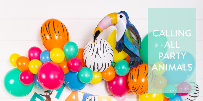 How to Throw a Party Animals Theme Party