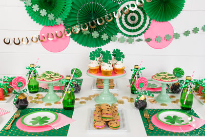 Pink & Green St. Patrick's Day Party Ideas