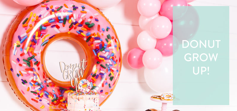 Donut Grow up party inspiration blog
