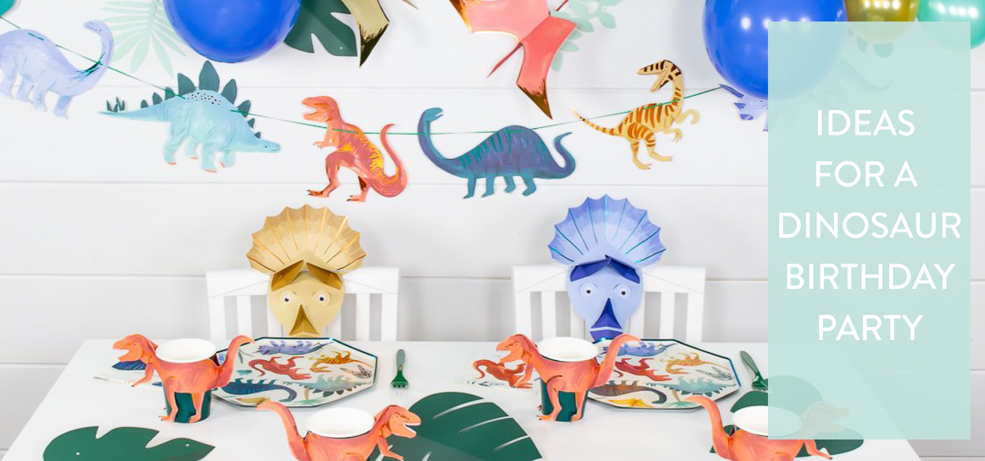 Ideas for a Dinosaur Birthday Party | The Party Darling