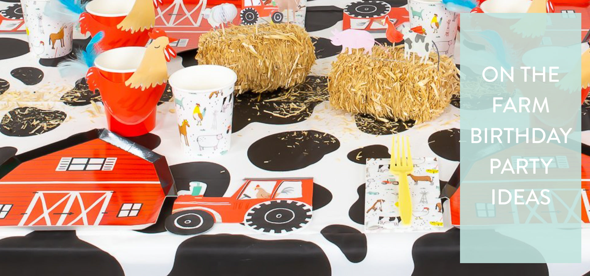 On the Farm Birthday Party Ideas | The Party Darling