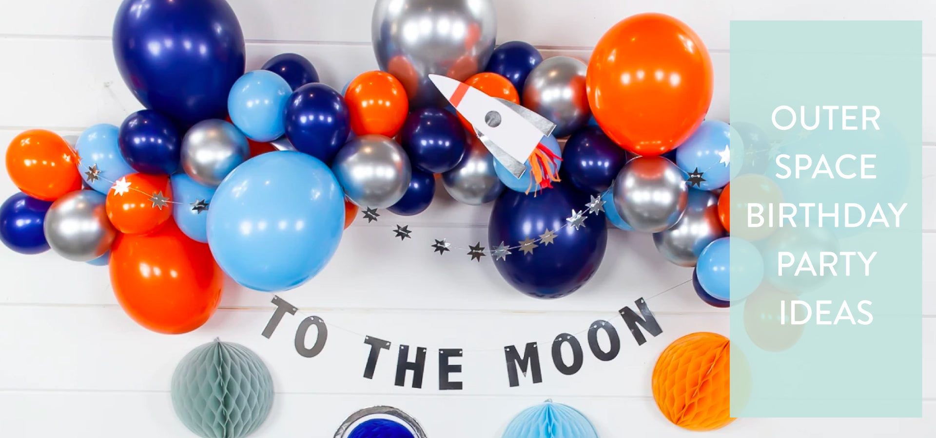 Outer Space Birthday Party Ideas | The Party Darling