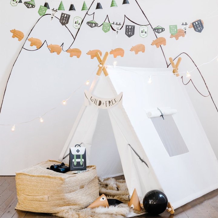 Camping/Tribal Party Supplies & Decorations