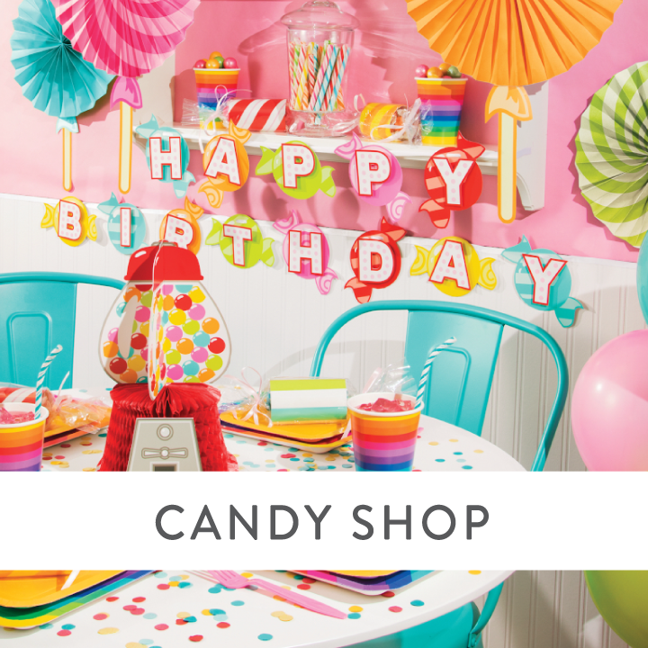 Candy Shop Party Supplies