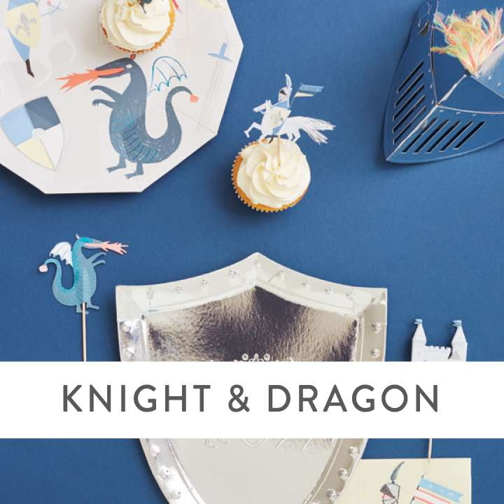Medieval Knight and Dragon Party Supplies