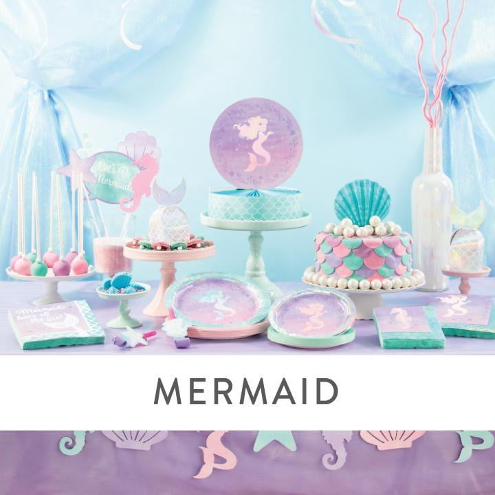 Mermaid Party Supplies and Decorations