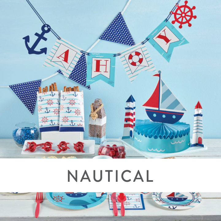 Nautical Party Supplies & Decorations