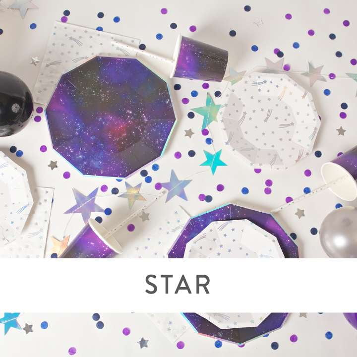 Star Party Supplies and Decorations