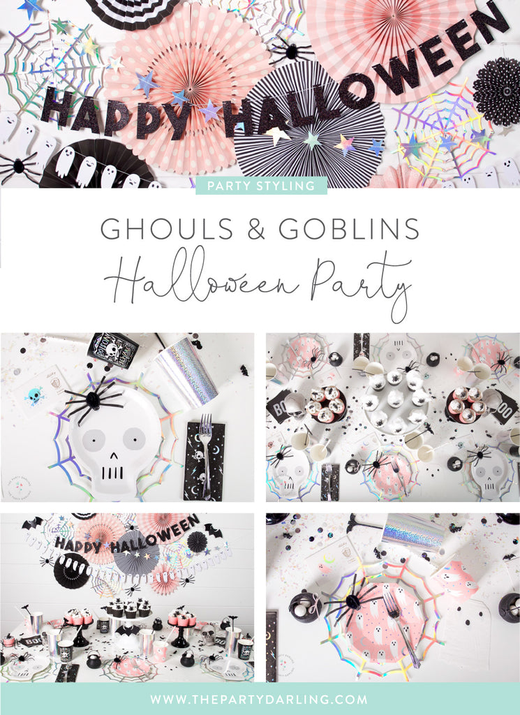 ghouls and goblins halloween party