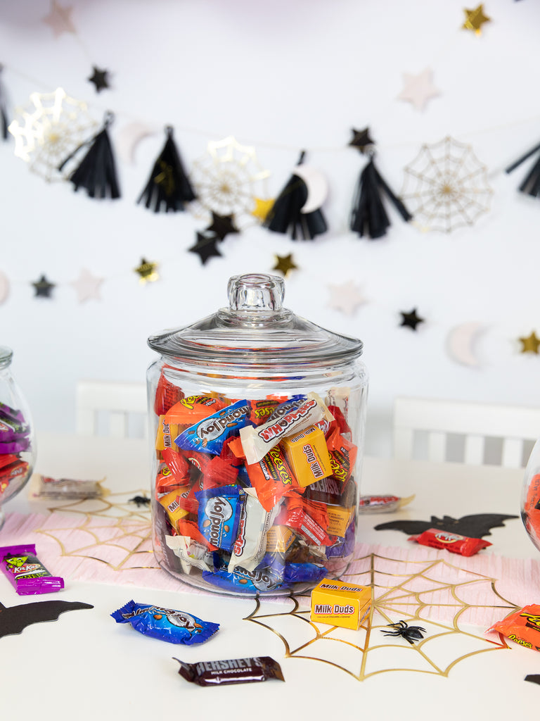 Halloween Candy in Jar