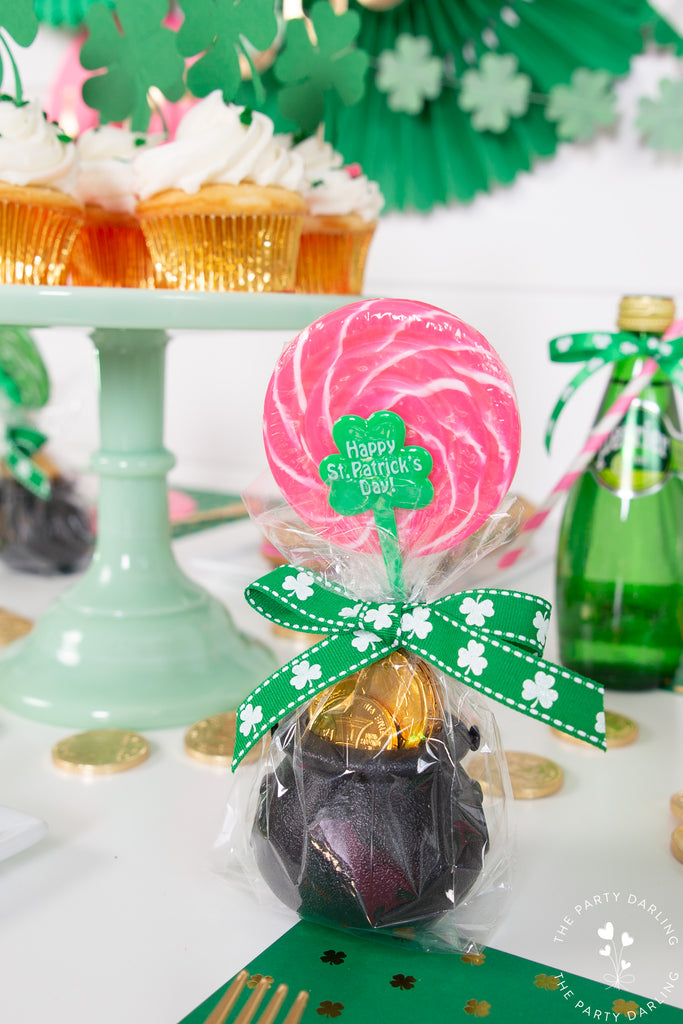 St. Patrick's Day pot of gold party favors