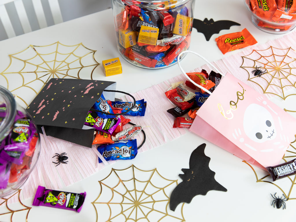 Treat Bags Filled with Candy