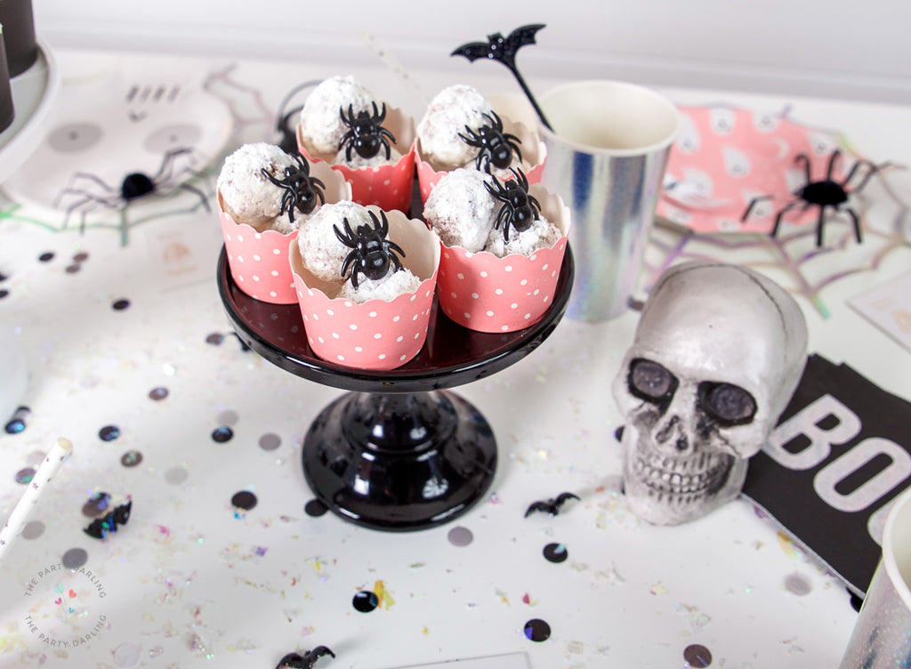 donut holes halloween party foods