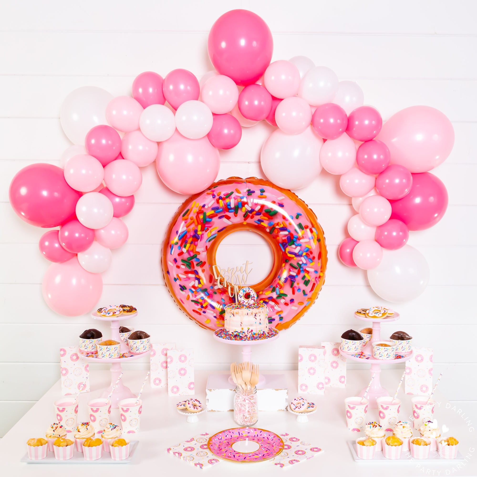 donut party package full party setup