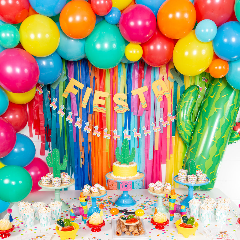 Colorful Cactus Fiesta Theme Party Ideas The Party Darling