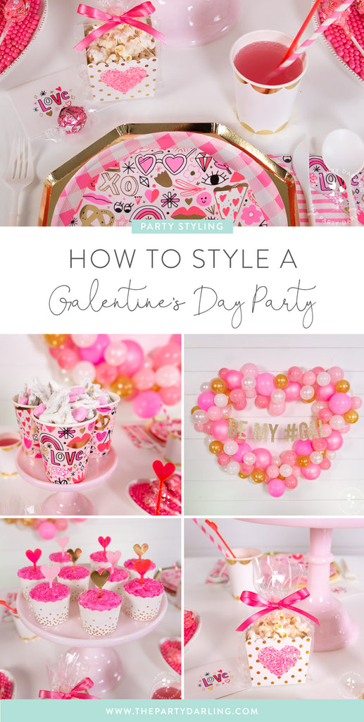 How to Style a Galentine's Day Party