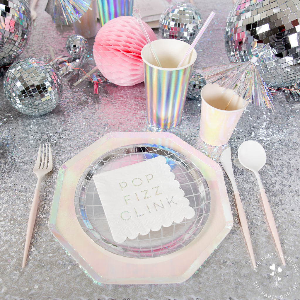 new year's eve table place setting