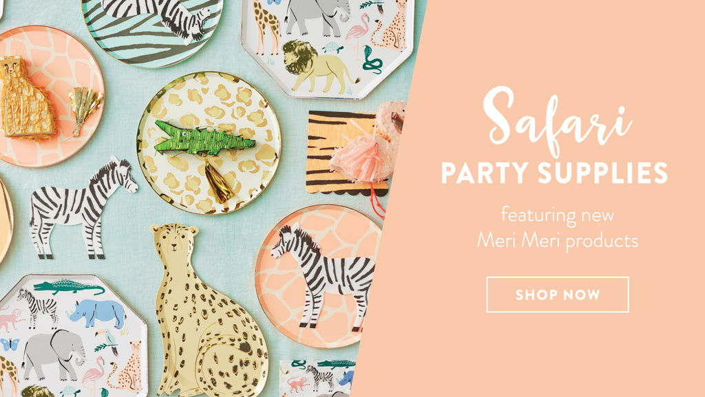 Safari Animal Party Supplies