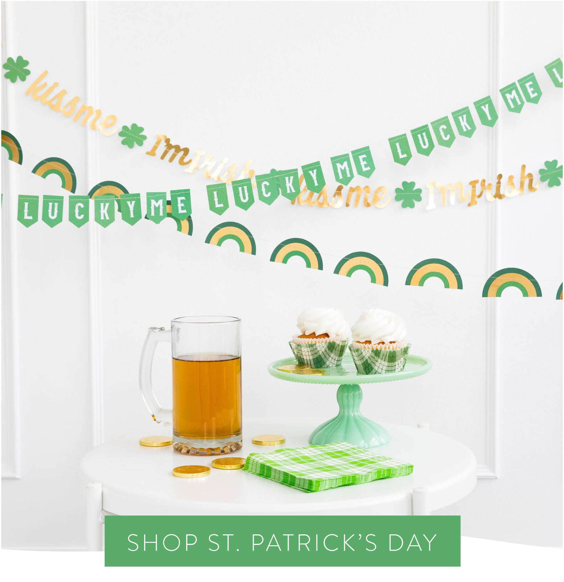 shop for St.Patrick's Day party supplies