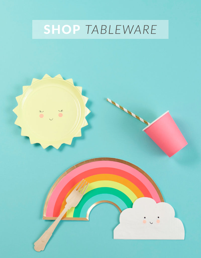 The Party Darling Tableware Party Supplies