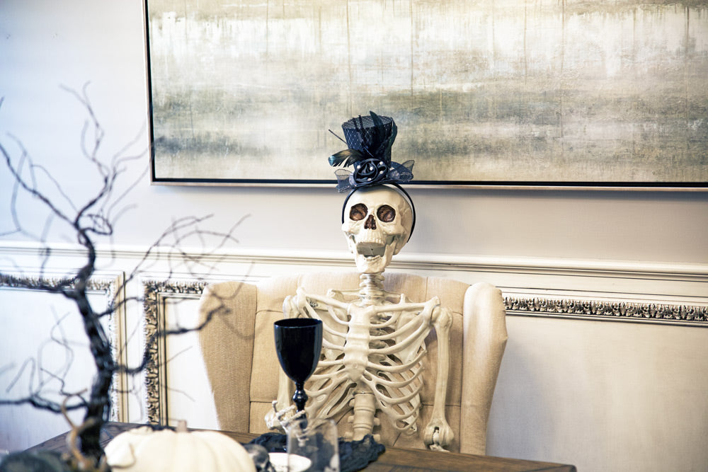 skeleton-at-dining-room-table