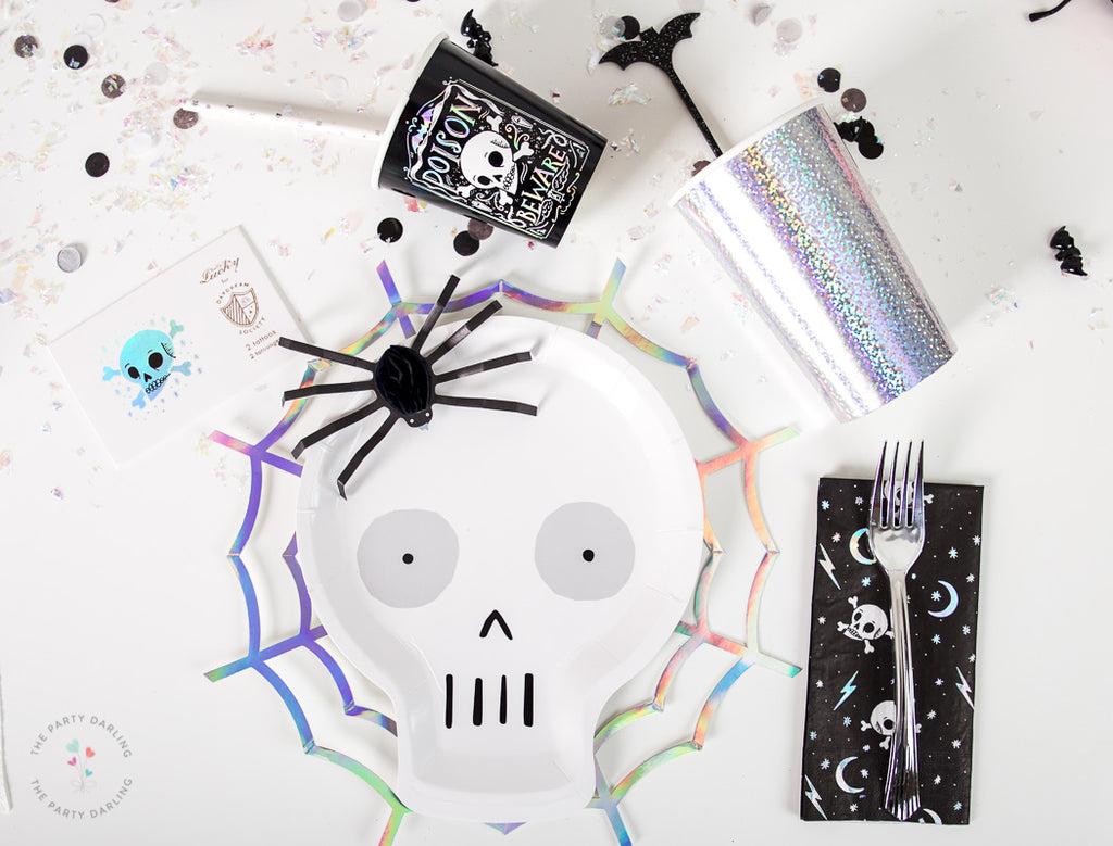 skeleton halloween party supplies