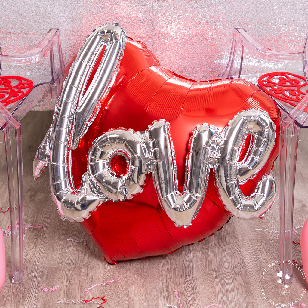 valentine heart balloon