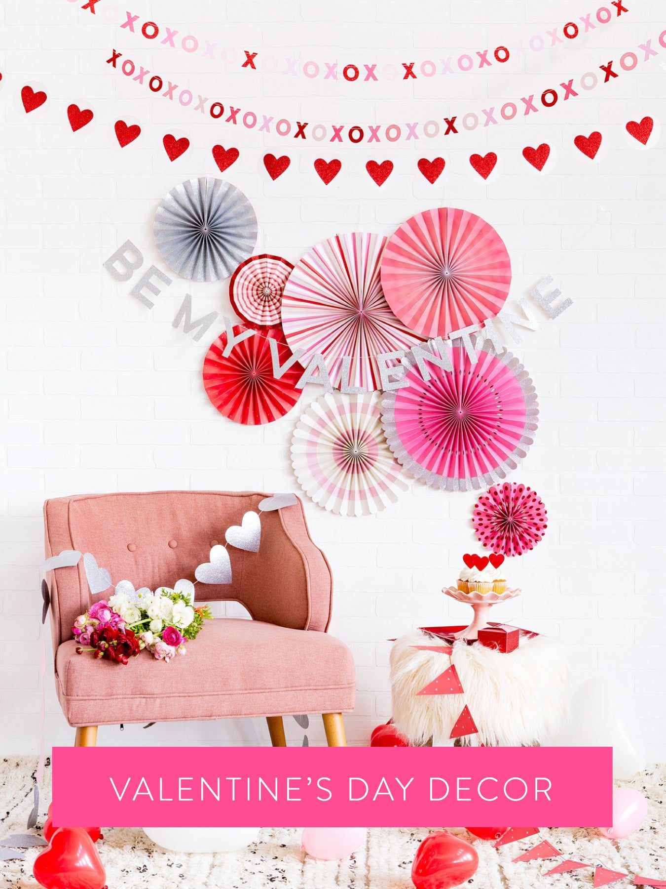 Shop for Valentine's Day party decorations