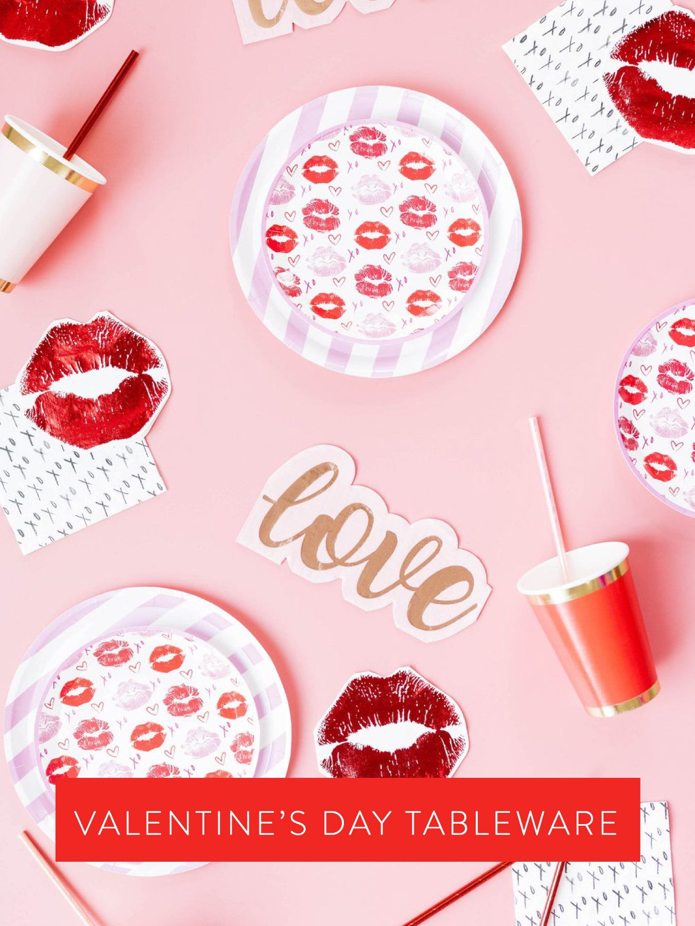 Shop for Valentine's Day tableware