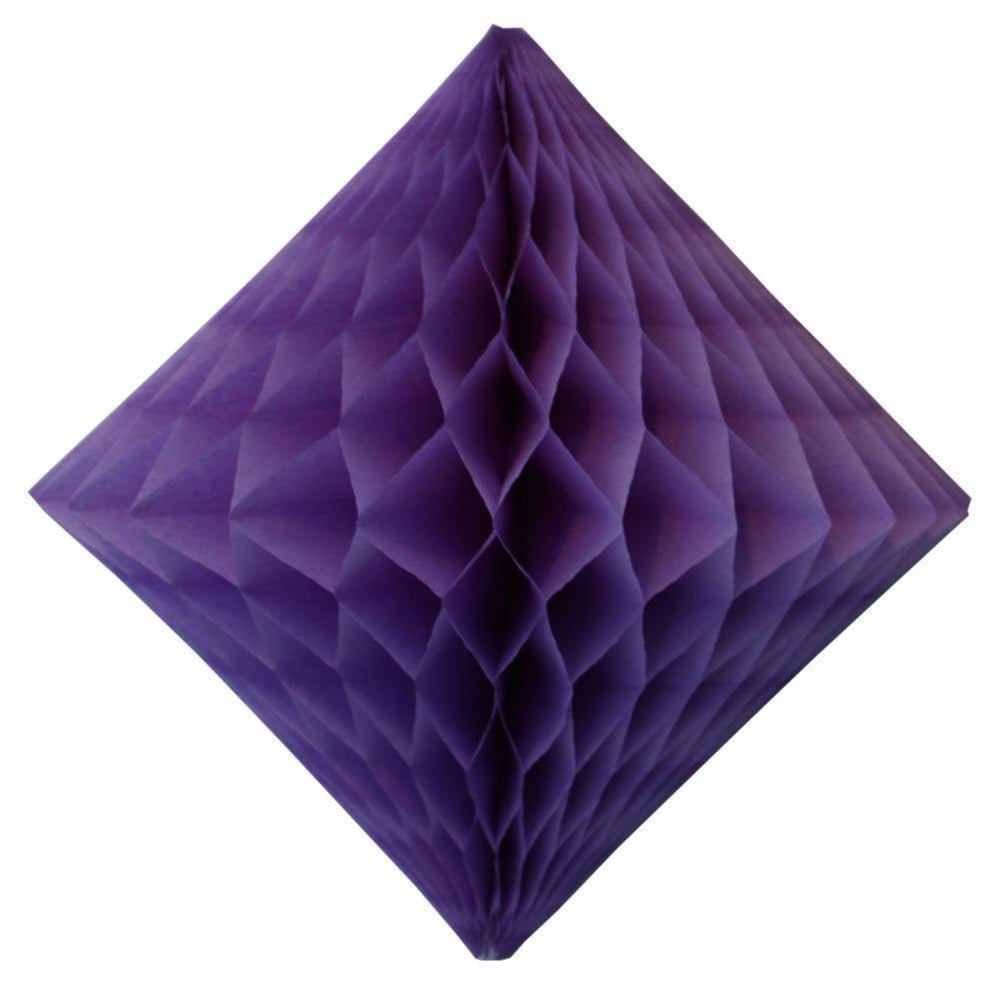 Lavender Honeycomb Diamond 12""
