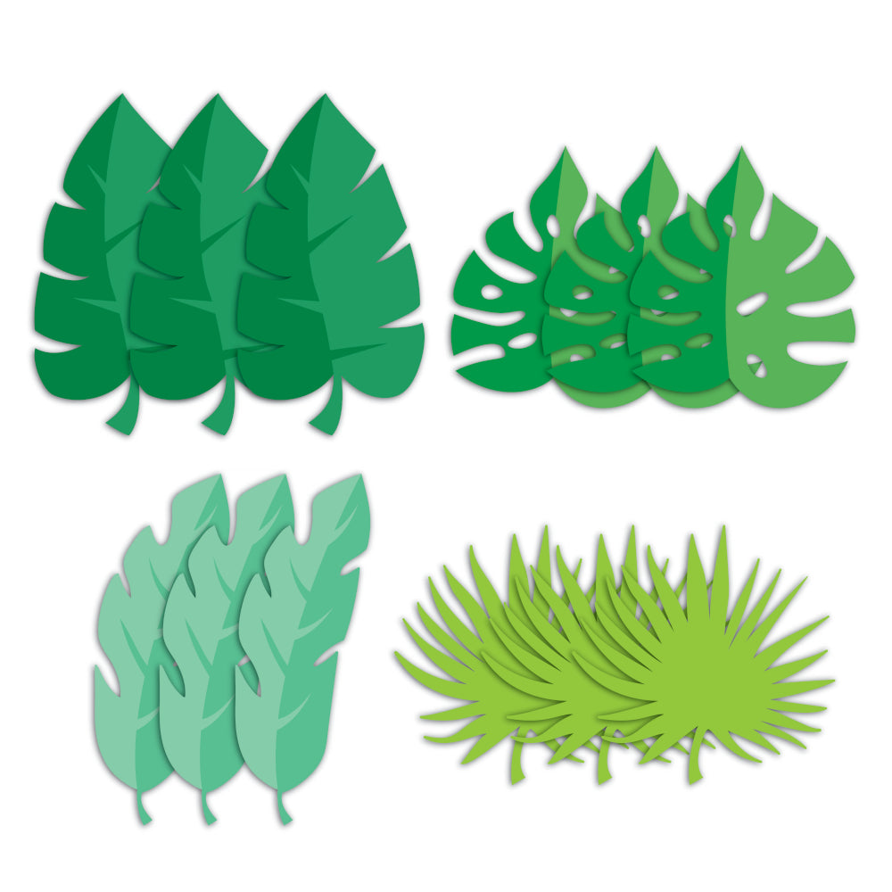 Tropical Palm Leaf Cutouts | The Party Darling