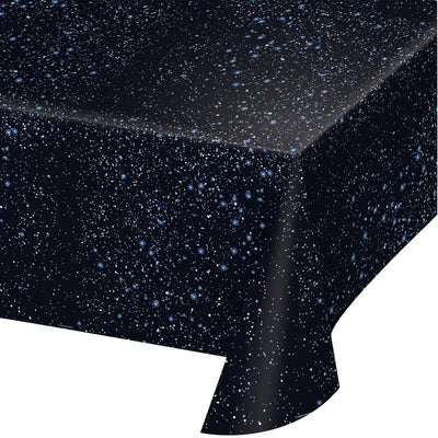 Outer Space Plastic Table Cover