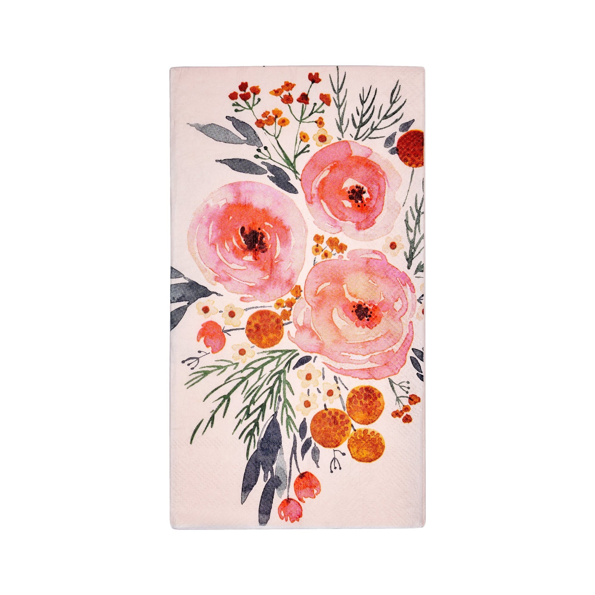 Blush Floral Paper Guest Towels 20ct | The Party Darling