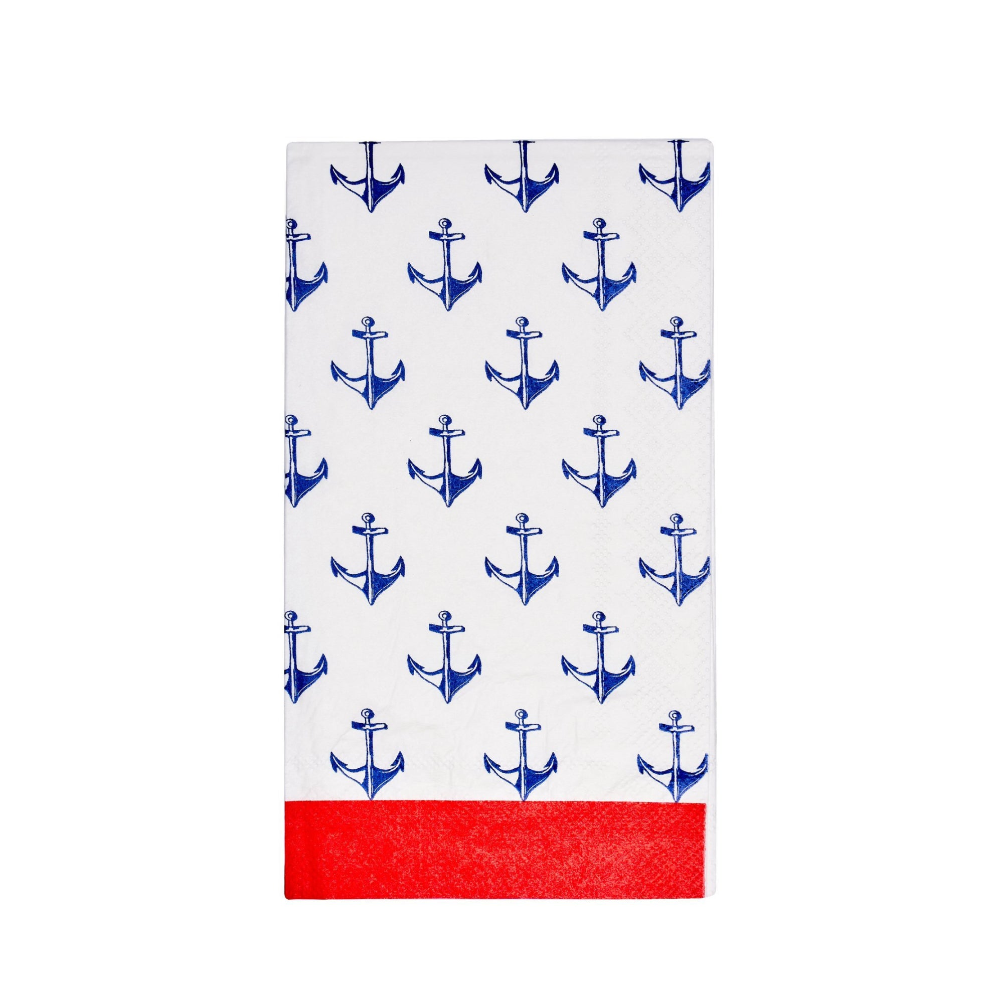 By the Sea Anchor Guest Towels 20ct | The Party Darling