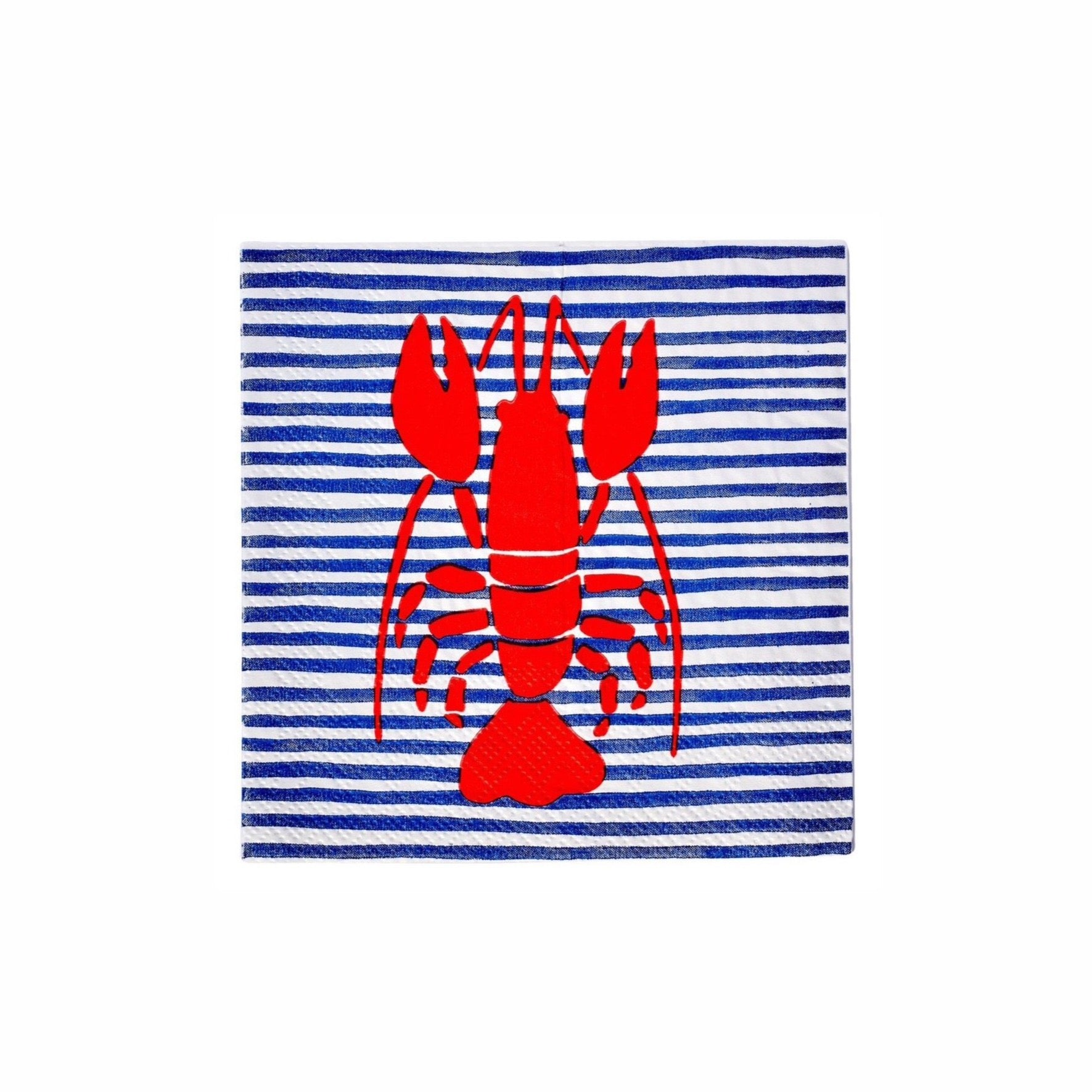 By the Sea Lobster Dessert Napkins