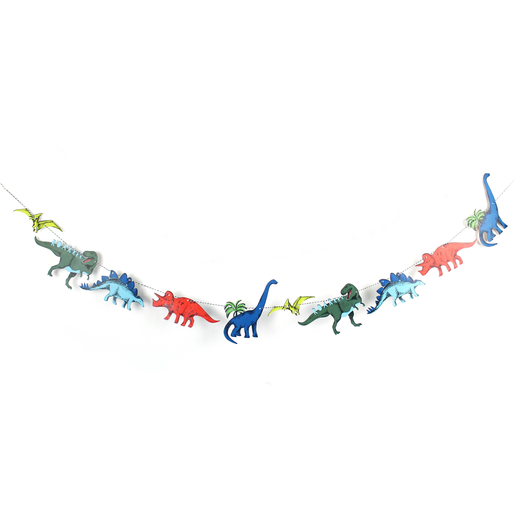 Dinosaur Party Garland 7.5ft | The Party Darling