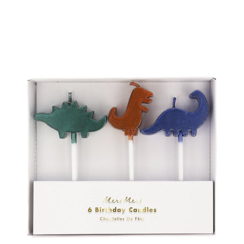 Dinosaur Kingdom Birthday Candles | The Party Darling
