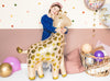 girl with Cute Giraffe Balloon 40""