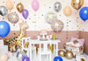 party setup with Cute Giraffe Balloon 40""