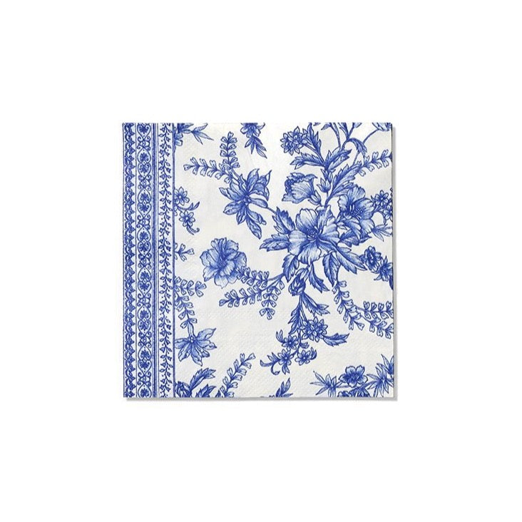 French Toile Paper Cocktail Napkins 25ct | The Party Darling